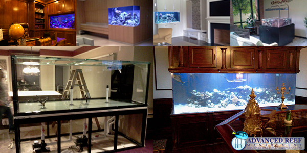 Aquarium tank stands and fish tank stands designed and installed